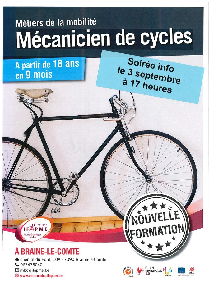 Formation vélo