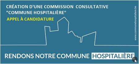 """Création d'une Commission consultative """"Commune hospitalière"""" Appel à candidature"""
