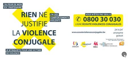 Rien ne justifie la violence conjugale - Campagne de sensibilisation