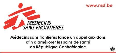 MSF - Appel aux dons