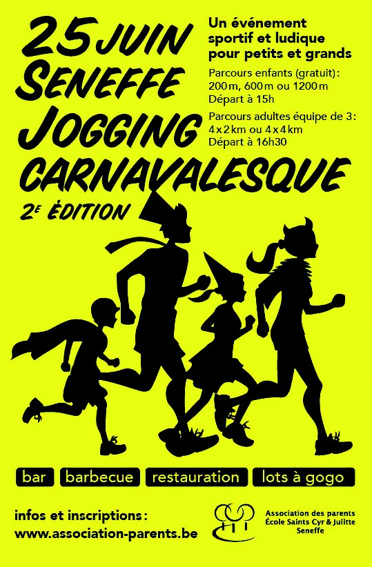 jogging carnavalesque