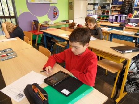 Utilisation de tablettes PC en 6A