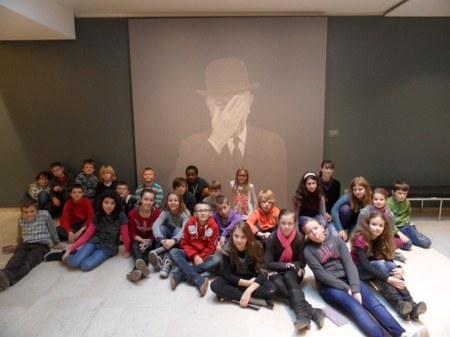 Visite au musée Magritte