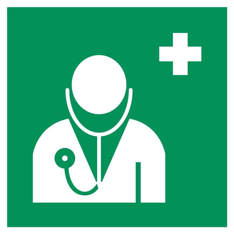 panneau medecin premiers secours