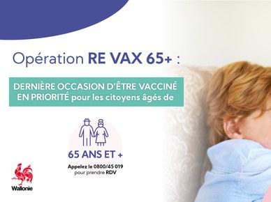"Opération ""Re Vax 65+"""