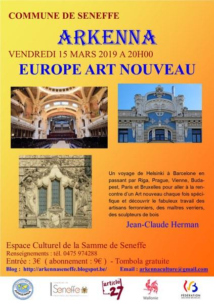 9. Europe Art Nouveau