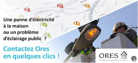 Panne d'électricité ou d'éclairage public?
