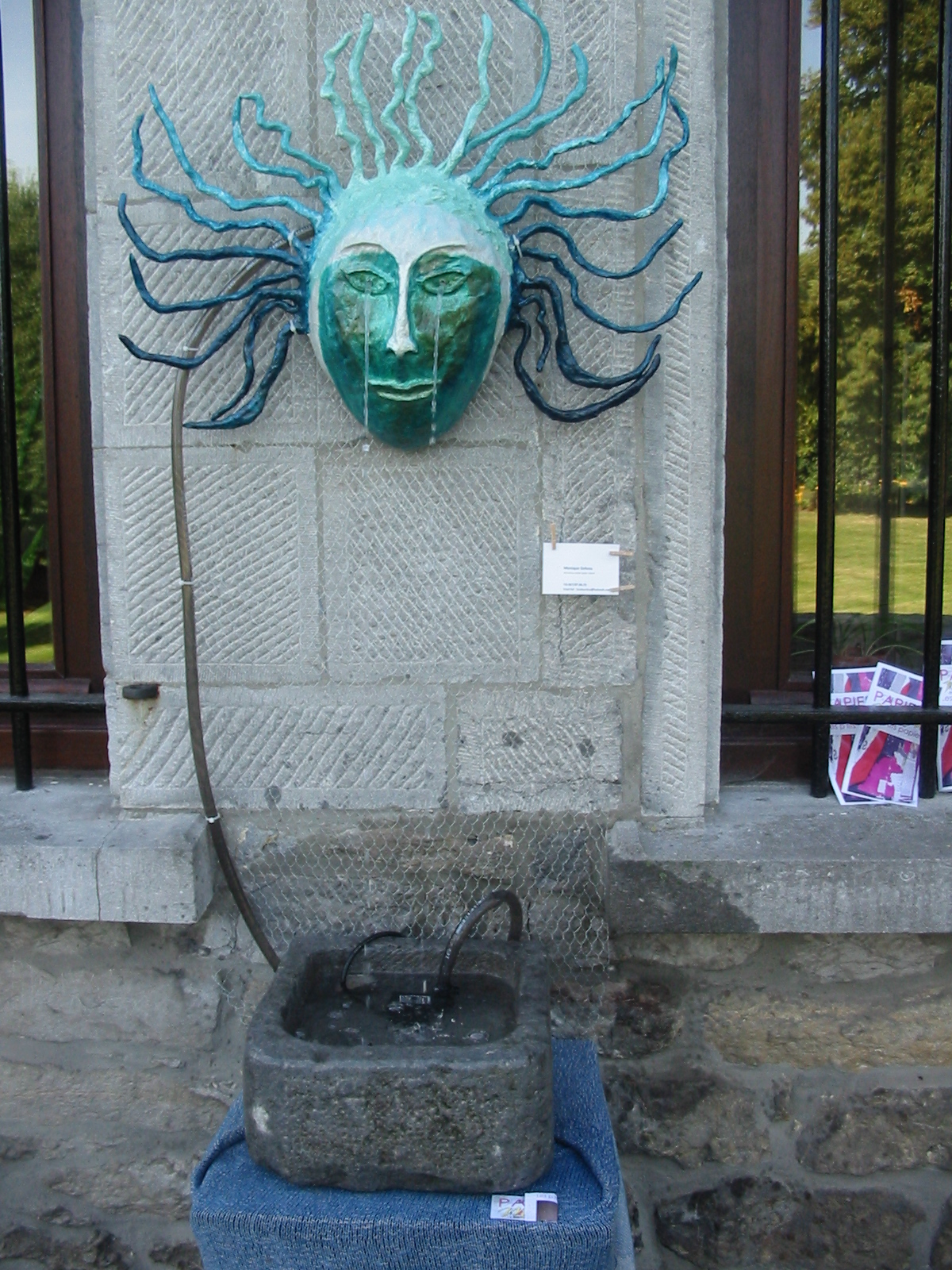 Masque fontaine