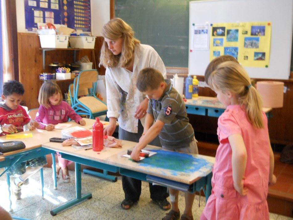 Catherine Pineur à l'école d'Arquennes(4)