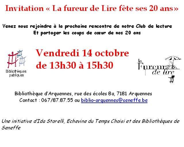 Invitation 14 octobre 2011