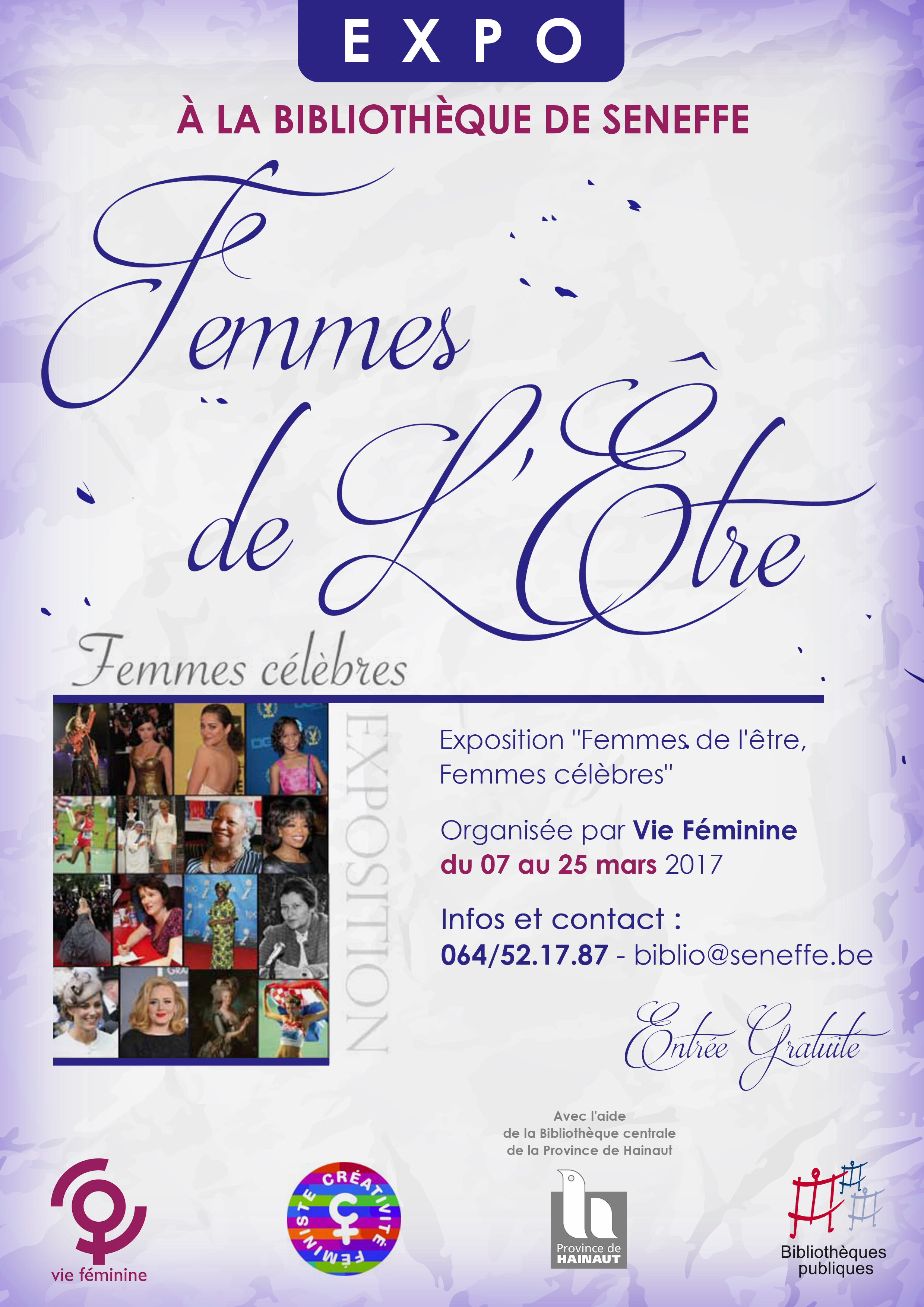 """Exposition """"Femmes de l'être"""""""