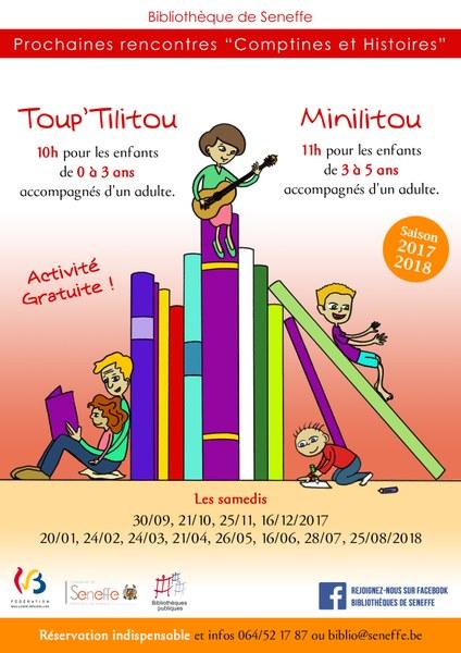 Toup'tilitou et minilitou 2017-2018