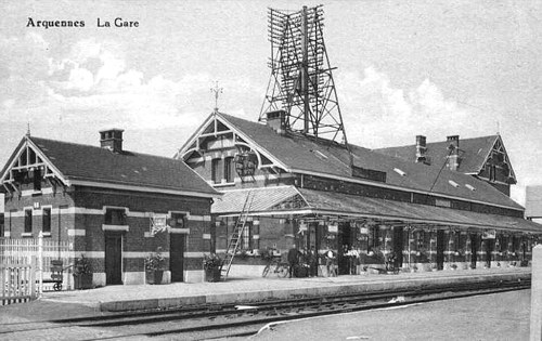 Gare d'Arquennes