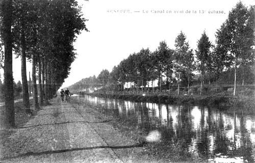 Le canal de Seneffe