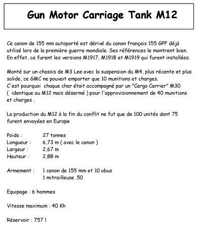 Tank GMC M12.... (# 01)